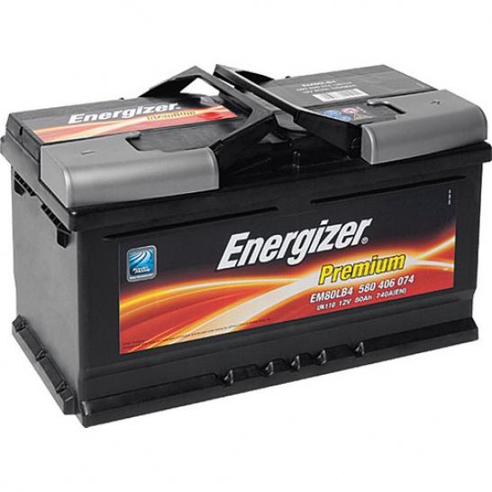 62 Amper Energizer Akü